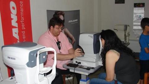 Δωρεάν γυαλιά οράσεως σε δεκάδες οικονομικά ανήμπορους της Λάρισας