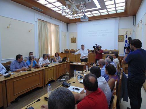 Πακτωλός χρημάτων από την Περιφέρεια Κρήτης για έργα, στήριξη της επιχειρηματικότητας αλλά και της αλιείας