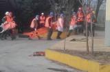 Άσκηση αντιμετώπισης σεισμού στην Καισαριανή