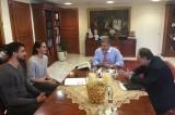 Την ανάπτυξη του βόλεϊ στο Μαρούσι συζήτησε ο Πατούλης με αθλητές