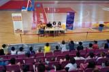 Βαρβεράκης, Καλατζή και Μηλάκη στο Indoor Summer Camp του Δήμου Ηρακλείου