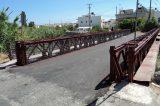 Ολοκληρώθηκαν οι εργασίες της γέφυρας στις Τρεις Βαγιές Ηρακλείου