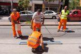 Ξεκίνησαν οι διαγραμμίσεις για την ελεγχόμενη στάθμευση στη Θεσσαλονίκη
