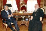 Συζήτησαν συνεργασία Αυτοδιοίκησης-εκκλησίας αλλά και για τα κοιμητήρια