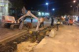 Με γρήγορους ρυθμούς η κατασκευή έργων στο Βόλο