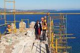 Το μεγαλύτερο αναστηλωτικό έργο στο Βόρειο Αιγαίο η αποκατάσταση του Κάστρου της Μυτιλήνης