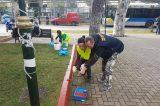 Ευρωπαίοι εθελοντές στο Ηράκλειο Αττικής