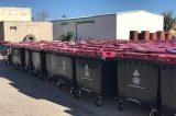 Εκατοντάδες νέοι κάδοι απορριμμάτων στο Ηράκλειο