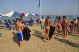 Μαθητές καθάρισαν την παραλία της Νέας Χώρας στα Χανιά