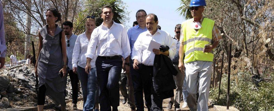 Ψεύτικα αποδείχθηκαν και τα « θα» του Τσίπρα για τους πυρόπληκτους στο Μάτι
