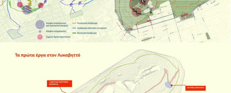 Με έργα 3 εκατ. ευρώ ξαναζωντανεύει ο λόφος Λυκαβηττού .Ανοίγουν και τα αναψυκτήρια