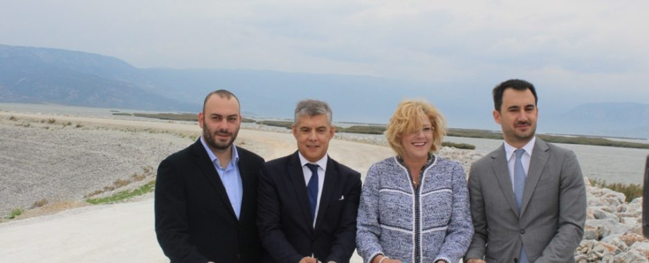 Κέρδισε η Θεσσαλία το στοίχημα και 150 χιλιάδες στρέμματα αρδεύονται πλέον χάρη στη Λίμνη Κάρλα