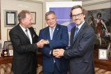 Ζήτησαν ακόμα πιο στενή ελληνογερμανική συνεργασία κυρίως στην Αυτοδιοίκηση
