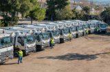 66 απορριμματοφόρα  & 10.000 καφέ κάδοι  δίνονται στους δήμους  Αττικής . Δημιουργούνται 1.000 γωνιές ανακύκλωσης