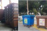 Καφέ κάδοι και στο Μαρούσι για τη συλλογή βιοαποβλήτων