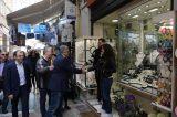 Στο Εμπορικό Κέντρο της Αθήνας περιόδευσε ο Πατούλης και υποσχέθηκε στήριξη
