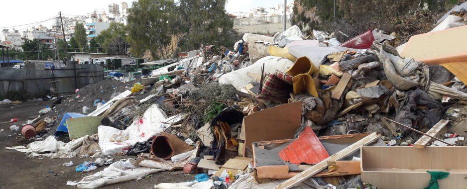 Δασαρχείο , Δούρου , αστυνομία κ.α  σιωπούν για την παράνομη χωματερή Κασιμάτη στον Άνω Κορυδαλλό κοντά σε σχολεία και σπίτια