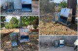 15 ταΐστρες και ποτίστρες για αδέσποτα ζώα στο δήμο Αχαρνών