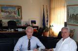 Στήριξη στο Λαύριο υποσχέθηκε ο Αυγερινός