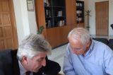 «Πλήθος κοινών έργων και δράσεων» υποσχέθηκε ο Αυγερινός στον Κιούση