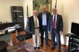 Συνάντηση για έργα στο δήμο Ερέτριας