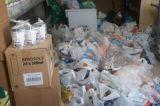 «Πλημμύρισαν» με τρόφιμα οι Χανιώτες το Κοινωνικό Παντοπωλείο
