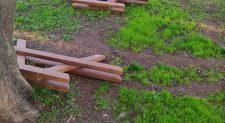 Καταστροφές και αδιαφορία Πάρκο Τρίτση , καταγγέλλει ο Κάβουρας