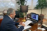 Αιτήματα και προβλήματα σχετικά με τον κορωνοιό , έθεσαν δήμαρχοι στον Πατούλη με τηλεδιάσκεψη