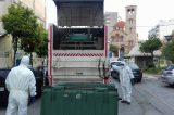 Απολυμαίνονται κάδοι –κοινόχρηστοι χώροι σε Μοσχάτο-Ταύρο